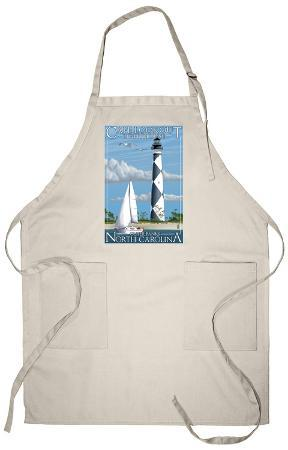 Cape Lookout Lighthouse - Outer Banks, North Carolina Apron