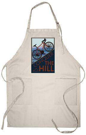Conquer the Hill - Mountain Bike Apron