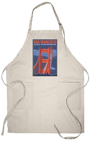 San Francisco, California - Golden Gate Bridge Apron