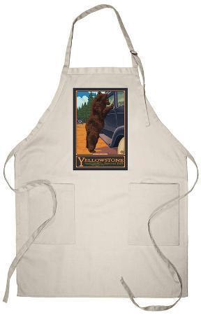 Don't Feed the Bears, Yellowstone National Park, Wyoming Apron