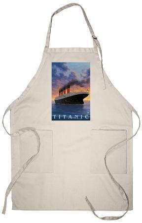 Titanic Scene - White Star Line Apron