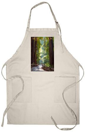 Muir Woods National Monument, California - Pathway Apron