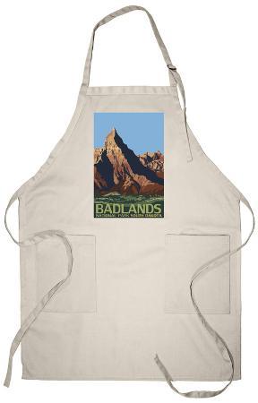 Badlands National Park, South Dakota Apron