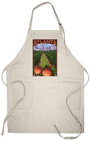 Atlanta, Georgia - Peaches, c.2009 Apron