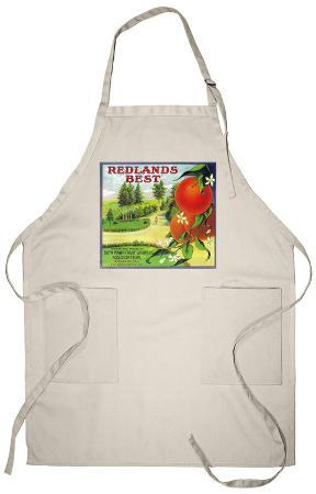 Redlands Best Orange Label - Redlands, CA Apron