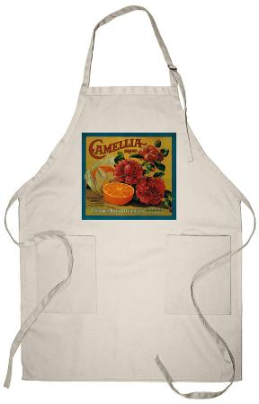 Camellia Orange Label - Redlands, CA Apron