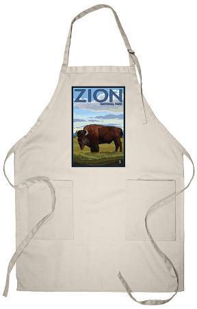 Zion National Park, UT - Bison Apron
