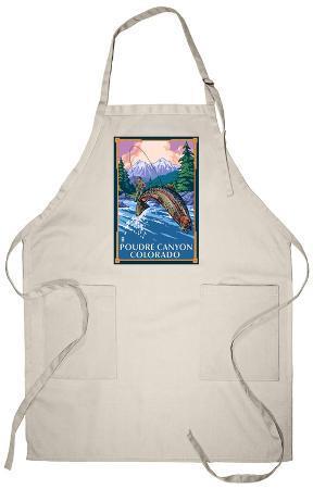 Poudre Canyon, Colorado - Fisherman Apron