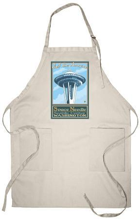 Visit the Space Needle, Seattle, Washington Apron
