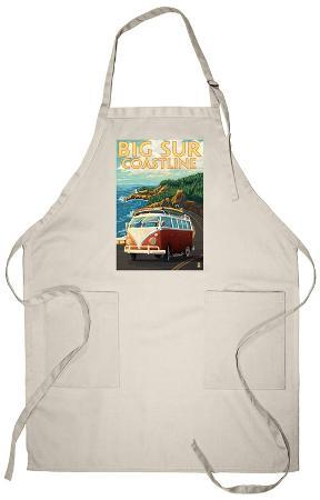 Big Sur, California - VW Coastal Drive Apron