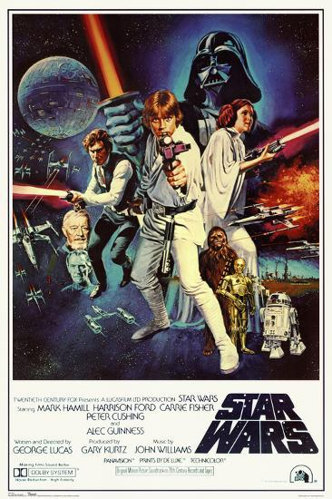 Star Wars Episode Iv New Hope Classic Movie Poster Photo Allposters Com