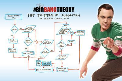 Big Bang Theory - Friendship Algorithm