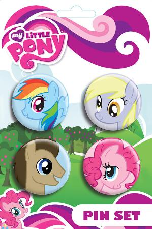 My Little Pony - Ponies Badge Pink Pack