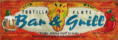 Tortilla Flats Bar Saloon Vintage