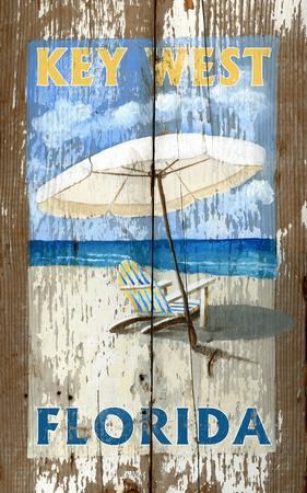 Beach Umbrella Vintage