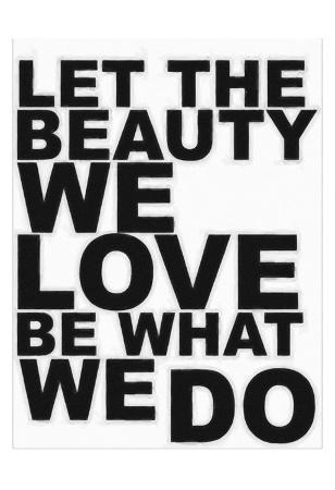 Let The Beauty