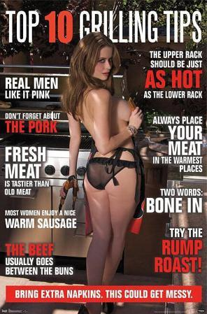 BBQ Girl Grilling Tips