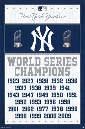 New York Yankees World Series Champions