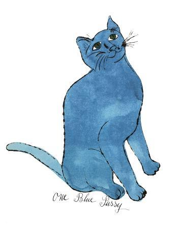 """Cat From """"25 Cats Named Sam and One Blue Pussy"""", c. 1954 (One Blue Pussy)"""