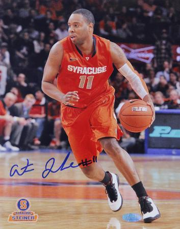 Scoop Jardine Syracuse Orange Jersey Autographed Photo (Hand Signed Collectable)