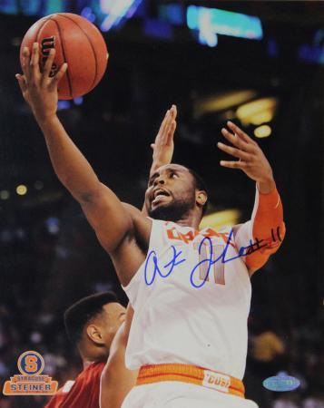 Scoop Jardine Syracuse White Jersey Autographed Photo (Hand Signed Collectable)