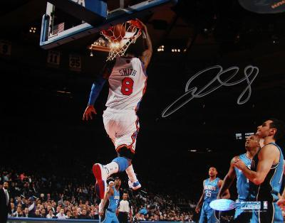 J.R. Smith Signed Dunk vs Magic Autographed Photo (Hand Signed Collectable)