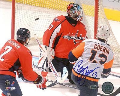 Bill Guerin Goal vs Capitals Autographed Photo (Hand Signed Collectable)