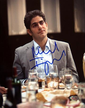 Michael Imperioli At Dinner Table Autographed Photo (Hand Signed Collectable)