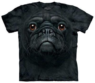 Black Pug Face