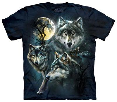 Moon Wolves Collage