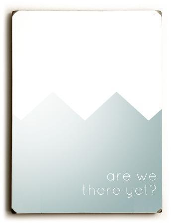 Are We There Yet (blue)