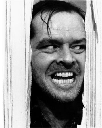 The Shining Movie Poster Jack Nicholson Kubrick
