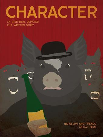 Character (Animal Farm) - Element of a Novel