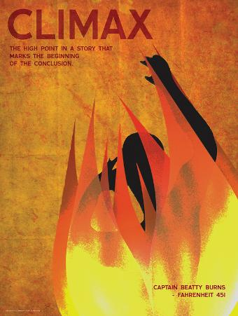 Climax (Fahrenheit 451) - Element of a Novel