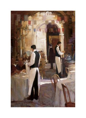 Two Waiters, Place des Vosges