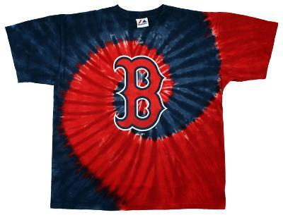 MLB: Red Sox Spiral Dye