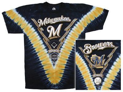 MLB: Brewers V-Dye