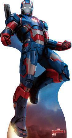 Iron Patriot - Iron Man 3 Marvel Lifesize Standup