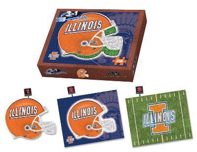 University Of Illinois Fighting Illinois Puzzle