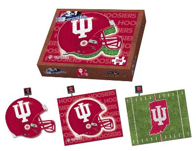 Indiana University Hoosiers Indiana Puzzle