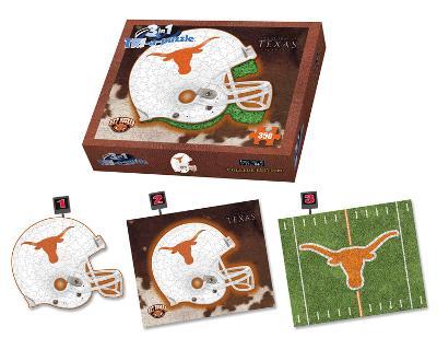 University Of Texas Longhorns Texas Puzzle