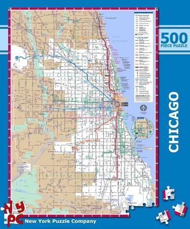 Chicago Subway 500 piece Puzzle