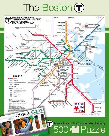 Boston Subway 500 piece Puzzle