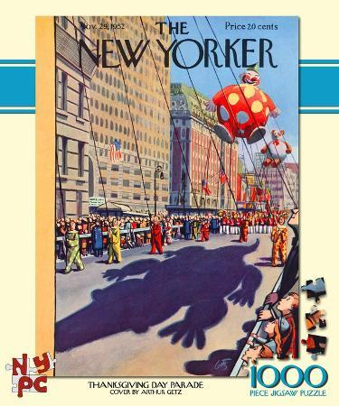 Thanksgiving Day Parade 1000 piece Puzzle