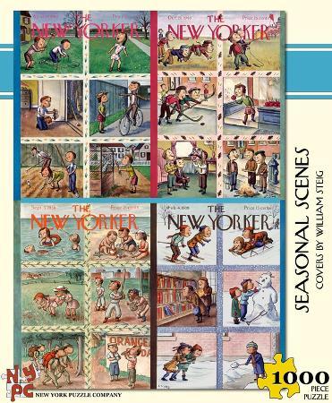 Seasonal Scenes 1000 piece Puzzle