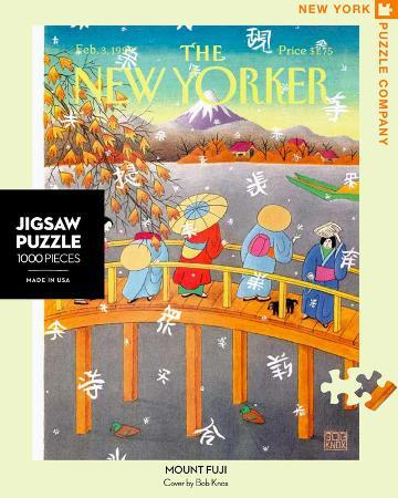 Mount Fuji in Fall 1000 piece Puzzle