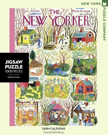 Farm Calendar 1000 piece Puzzle