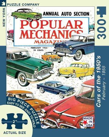 Cars of the 1950s 300 piece Puzzle