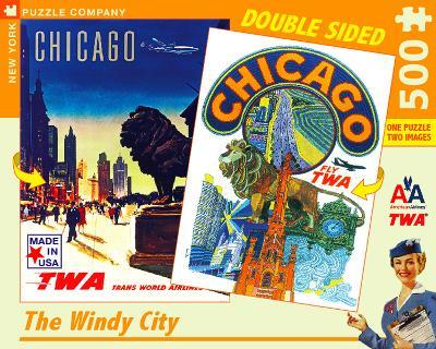Chicago - 500 Piece Double Sided Puzzle 500 piece Double Sided Puzzle
