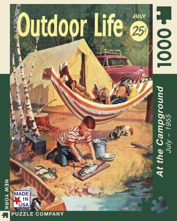The Camping Trip 100 piece Puzzle